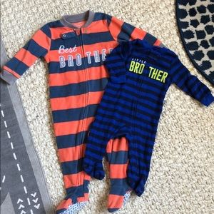 Other - 2 best and little brother PJs